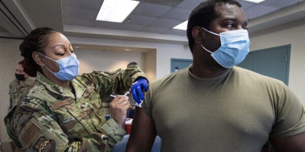 Navy Spouse Says DOD Too Lax on COVID Vax