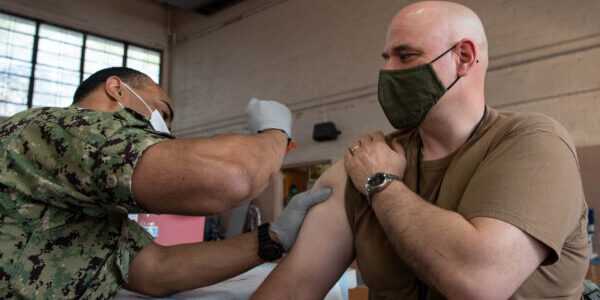 More than Half of Service Members Are Vaccinated